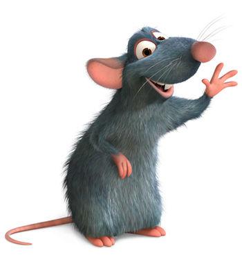 souris ratatouille