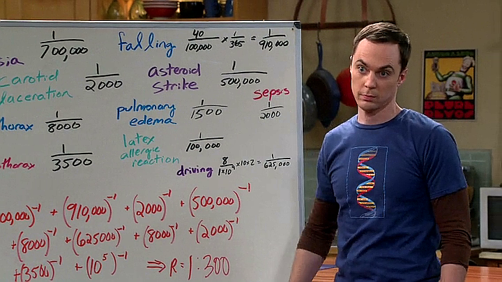 sheldon maths